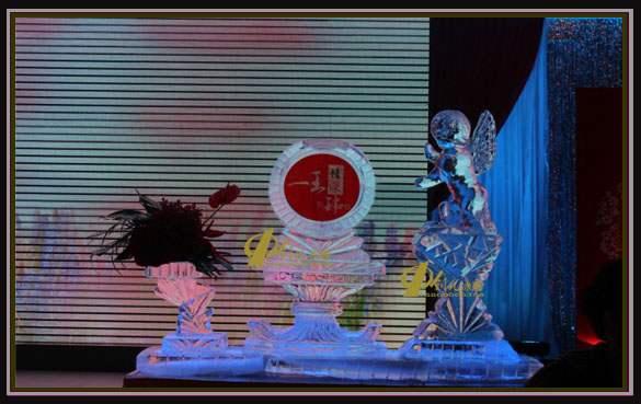 长沙婚礼冰雕(天使冰雕造型02)